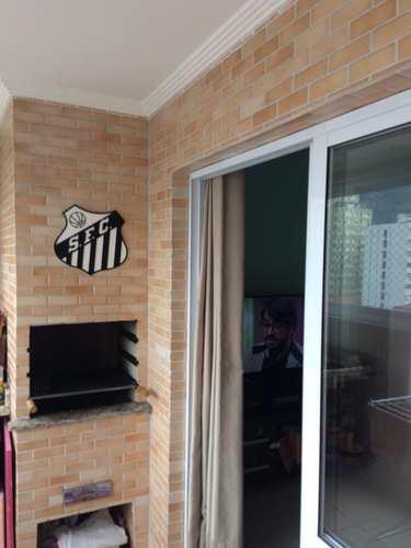Apartamento, código 1001591729 em São Vicente, bairro Centro