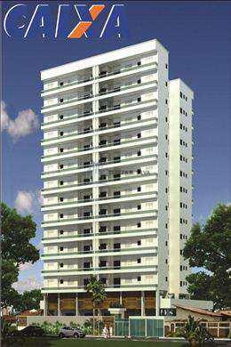 Apartamento, código 855 em Praia Grande, bairro Guilhermina