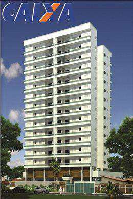 Apartamento, código 856 em Praia Grande, bairro Guilhermina