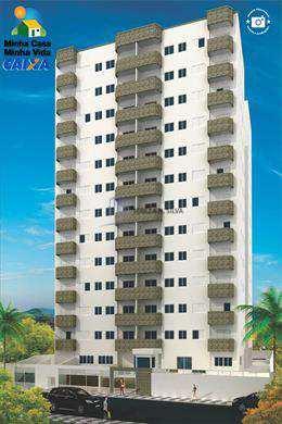 Apartamento, código 858 em Praia Grande, bairro Aviação