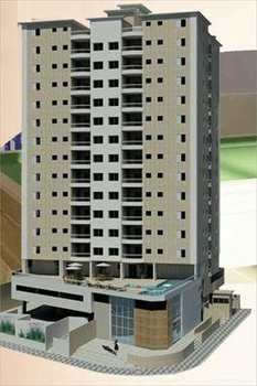 Apartamento, código 837 em Praia Grande, bairro Caiçara