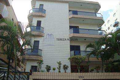 Apartamento, código 827 em Praia Grande, bairro Guilhermina