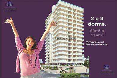 Apartamento, código 824 em Praia Grande, bairro Boqueirão