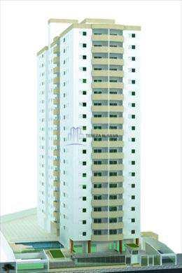 Apartamento, código 788 em Praia Grande, bairro Guilhermina