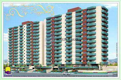 Apartamento, código 753 em Praia Grande, bairro Ocian