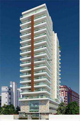 Apartamento, código 662 em Praia Grande, bairro Guilhermina