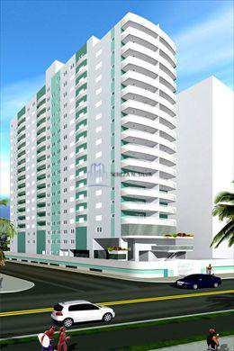 Apartamento, código 344 em Praia Grande, bairro Guilhermina