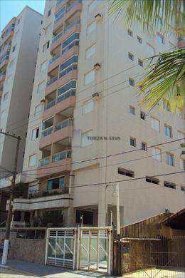 Apartamento, código 424 em Praia Grande, bairro Aviação