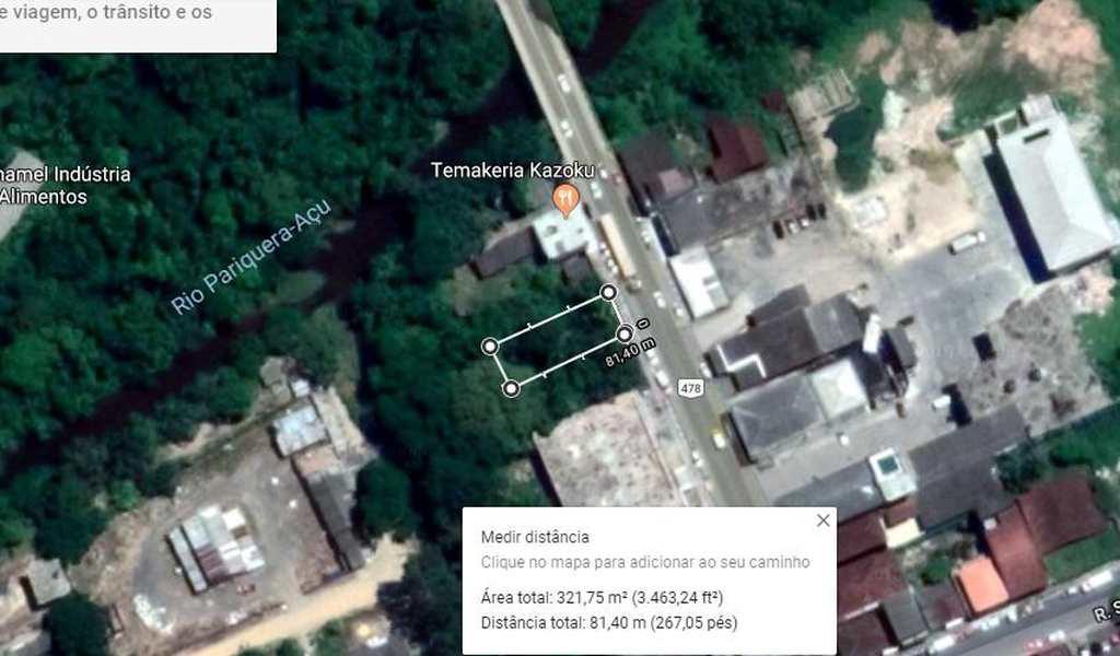 Terreno em Pariquera-Açu, bairro Centro