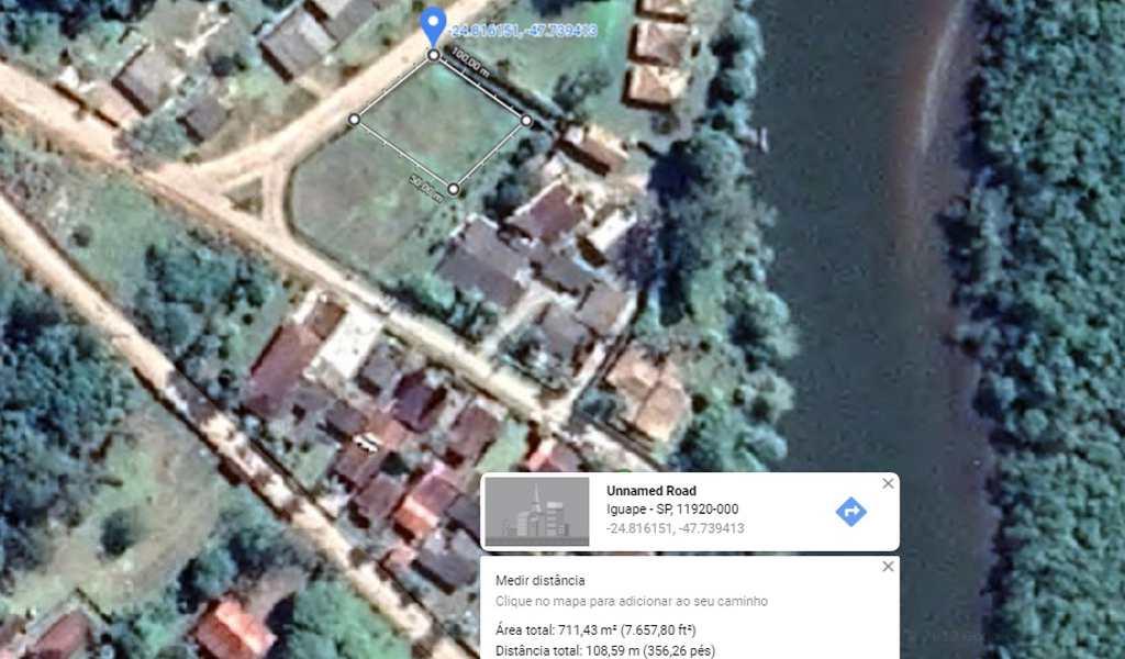 Área em Iguape, bairro Subaúma