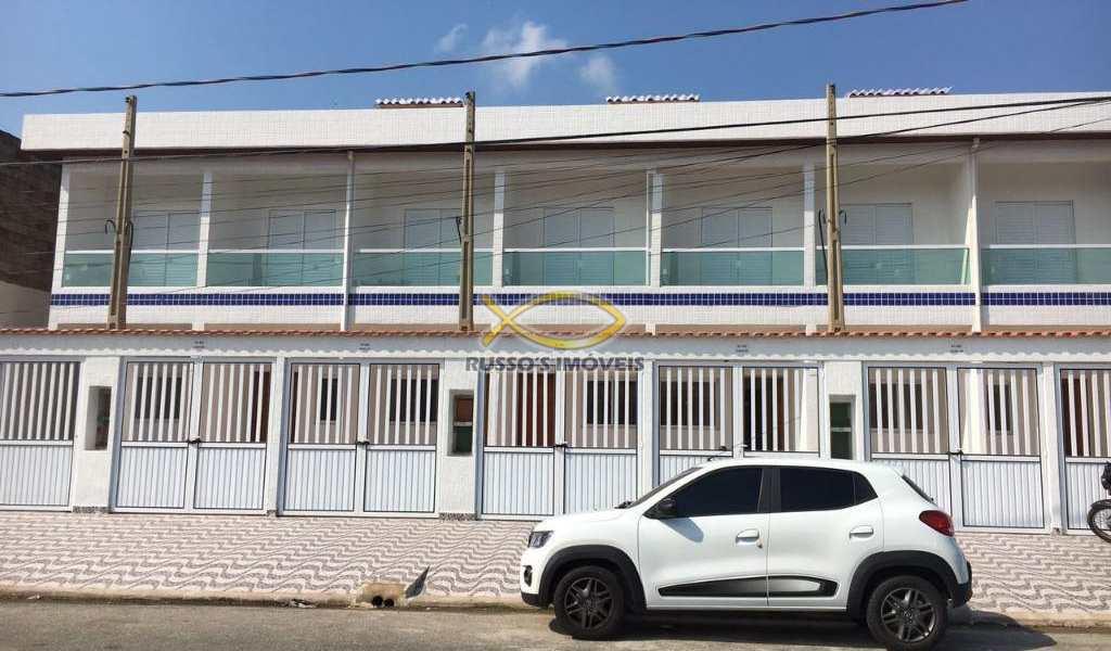 Sobrado em Praia Grande, bairro Tude Bastos (Sítio do Campo)