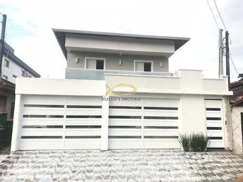 Sobrado de Condomínio, código 60018975 em Praia Grande, bairro Real