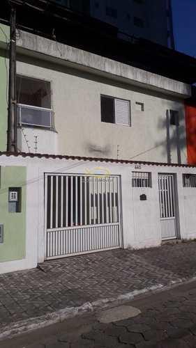 Sobrado, código 60019249 em Praia Grande, bairro Guilhermina