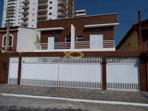 Casa de Condomínio, código 60019407 em Praia Grande, bairro Guilhermina