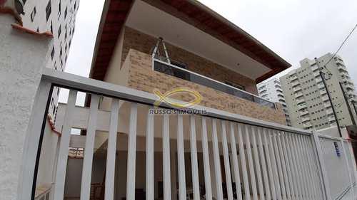 Sobrado de Condomínio, código 60019724 em Praia Grande, bairro Aviação
