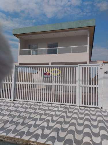 Sobrado de Condomínio, código 60019735 em Praia Grande, bairro Esmeralda