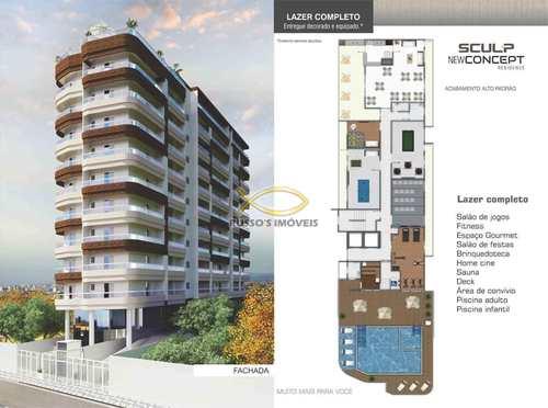Apartamento, código 60019829 em Praia Grande, bairro Caiçara