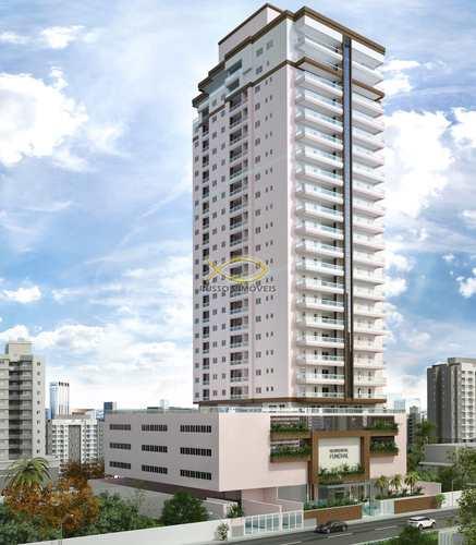 Apartamento, código 60020461 em Praia Grande, bairro Guilhermina