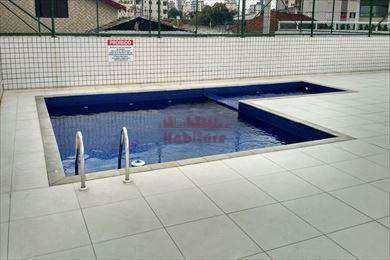 Apartamento, código 654100 em Praia Grande, bairro Guilhermina
