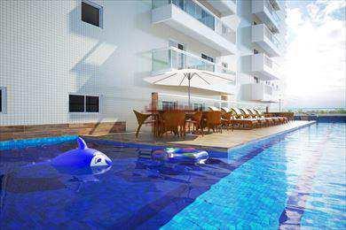 Apartamento, código 652200 em Praia Grande, bairro Canto do Forte
