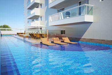 Apartamento, código 650400 em Praia Grande, bairro Canto do Forte