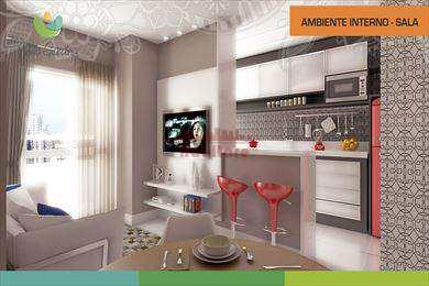 Apartamento, código 650300 em Praia Grande, bairro Guilhermina