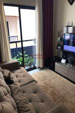 Apartamento, código 643000 em Praia Grande, bairro Guilhermina