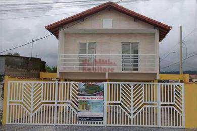 Casa de Condomínio, código 616400 em Praia Grande, bairro Samambaia