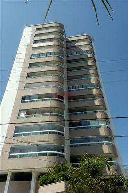 Apartamento, código 605700 em Praia Grande, bairro Guilhermina