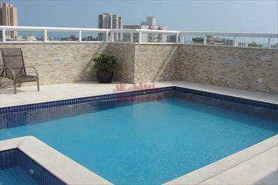 Apartamento, código 597400 em Praia Grande, bairro Guilhermina