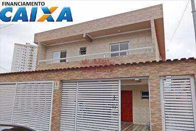 Sobrado de Condomínio, código 576600 em Praia Grande, bairro Guilhermina