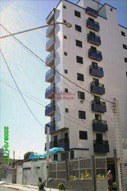Apartamento, código 185000 em Praia Grande, bairro Guilhermina