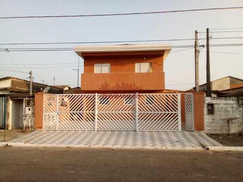 Casa de Condomínio, código 662201 em Praia Grande, bairro Antártica