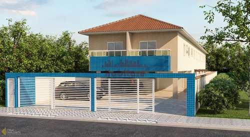 Casa de Condomínio, código 662325 em Praia Grande, bairro Vila Sônia