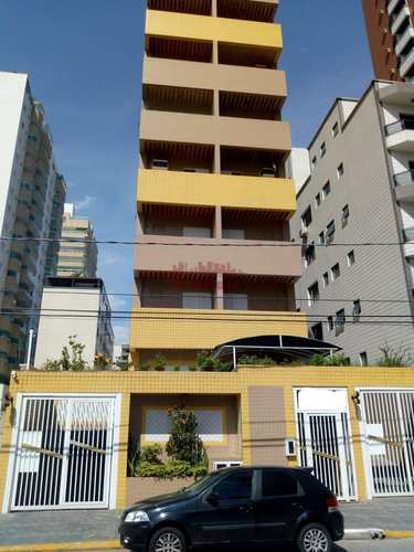 Apartamento, código 662500 em Praia Grande, bairro Guilhermina
