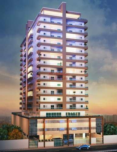Apartamento, código 662594 em Praia Grande, bairro Caiçara