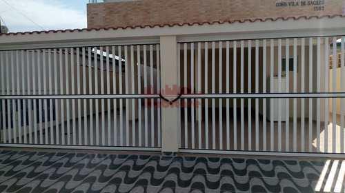 Casa de Condomínio, código 662659 em Praia Grande, bairro Vila Sônia