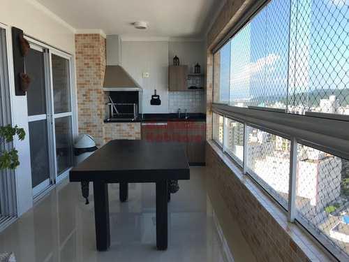 Apartamento, código 662673 em Praia Grande, bairro Guilhermina