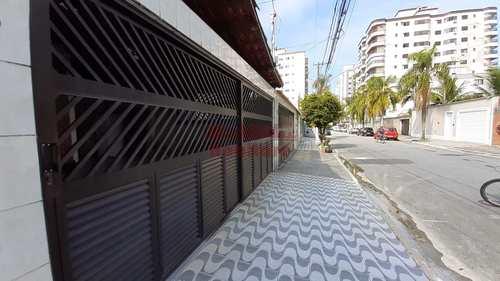 Casa, código 662689 em Praia Grande, bairro Guilhermina