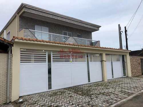 Casa de Condomínio, código 662897 em Praia Grande, bairro Melvi