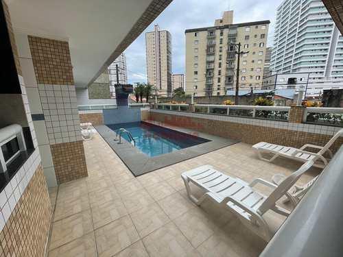 Apartamento, código 663180 em Praia Grande, bairro Caiçara