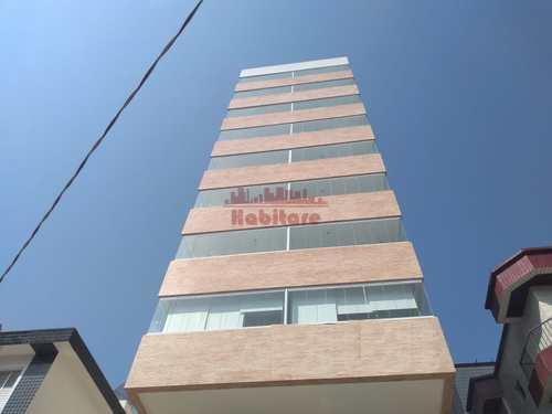 Apartamento, código 663225 em Praia Grande, bairro Guilhermina