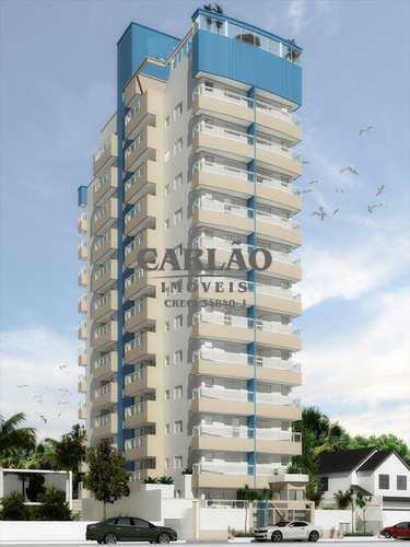 Apartamento, código 348201 em Praia Grande, bairro Guilhermina