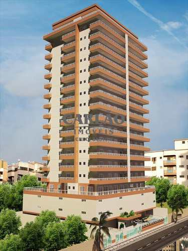 Apartamento, código 346501 em Praia Grande, bairro Guilhermina