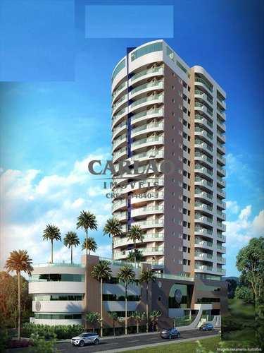 Apartamento, código 343701 em Mongaguá, bairro Jardim Aguapeu