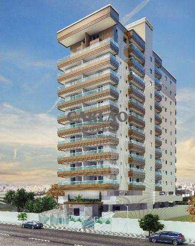 Apartamento, código 351929 em Praia Grande, bairro Guilhermina