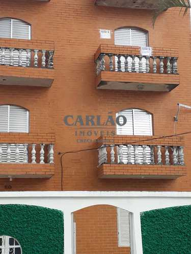 Apartamento, código 352000 em Praia Grande, bairro Caiçara