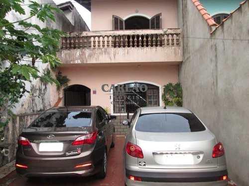 Sobrado, código 352032 em Mongaguá, bairro Vila Oceanopolis