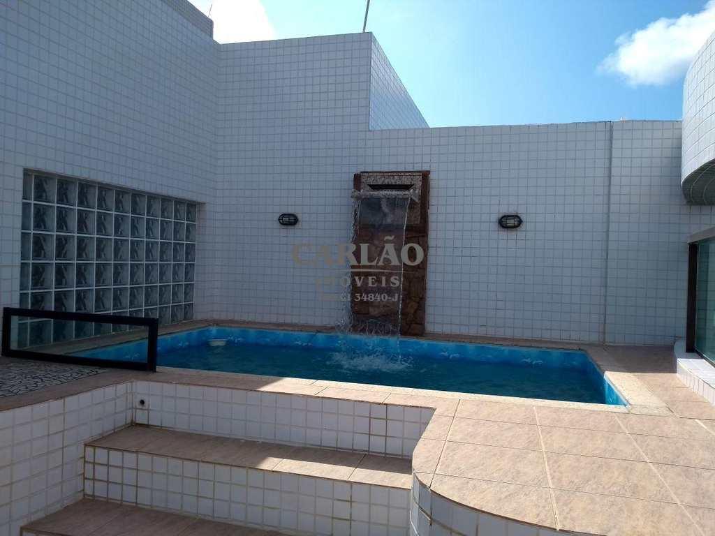 Cobertura em Mongaguá, no bairro Jardim Lunamar