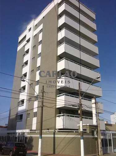 Apartamento, código 352103 em Praia Grande, bairro Nova Mirim